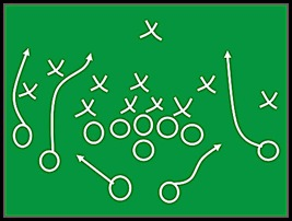 Football Play Diagram-72