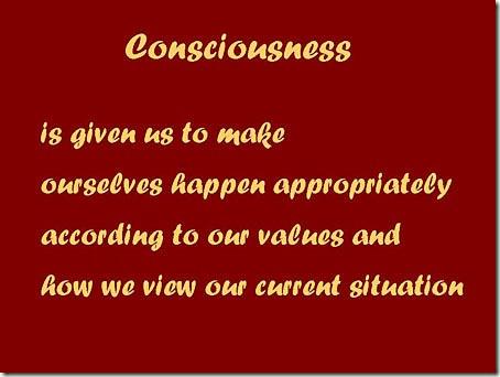 1-Consciousness